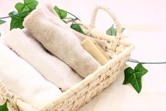 お客様のために、タオルは○○で洗ってるんです♡